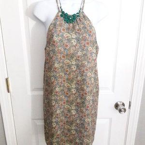 Forever 21 floral mini dress size medium